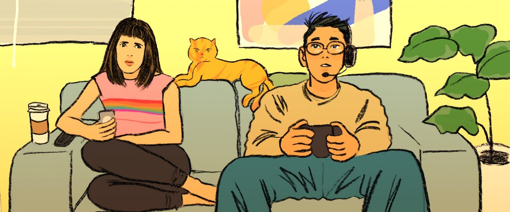 How to Spend Time with your Gamer Partner