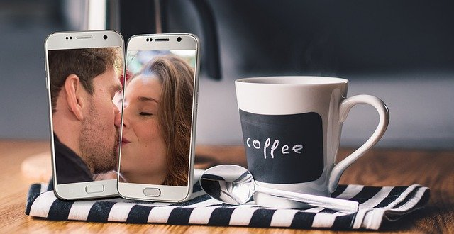 Social distancing has impacted lovers